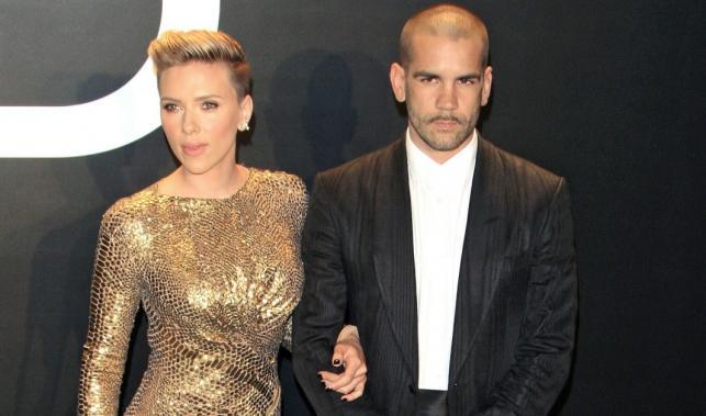 Scarlett Johansson i jej mąż Romain Dauriac