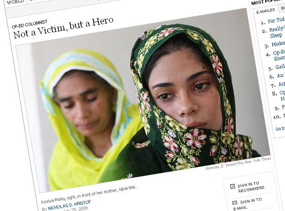 Ta nastolatka walczy w obronie zgwałconych kobiet
