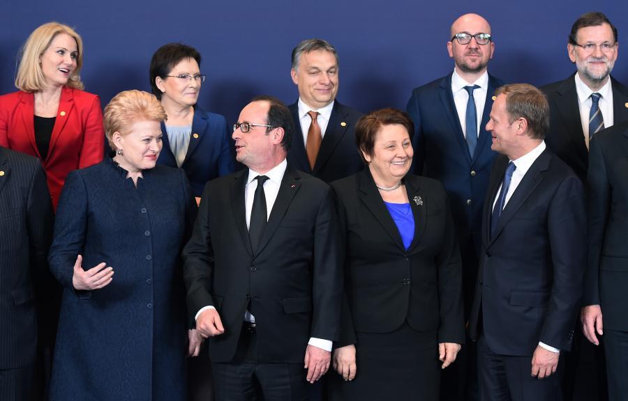 Unijny szczyt w Brukseli