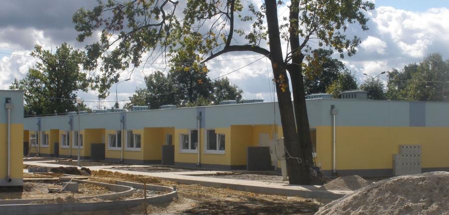 Mieszkania w Nowej Soli tuż po wybudowaniu. Zdj. z profilu Wadima Tyszkiewicza na FB