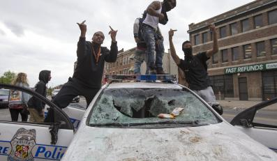 Zamieszki w Baltimore