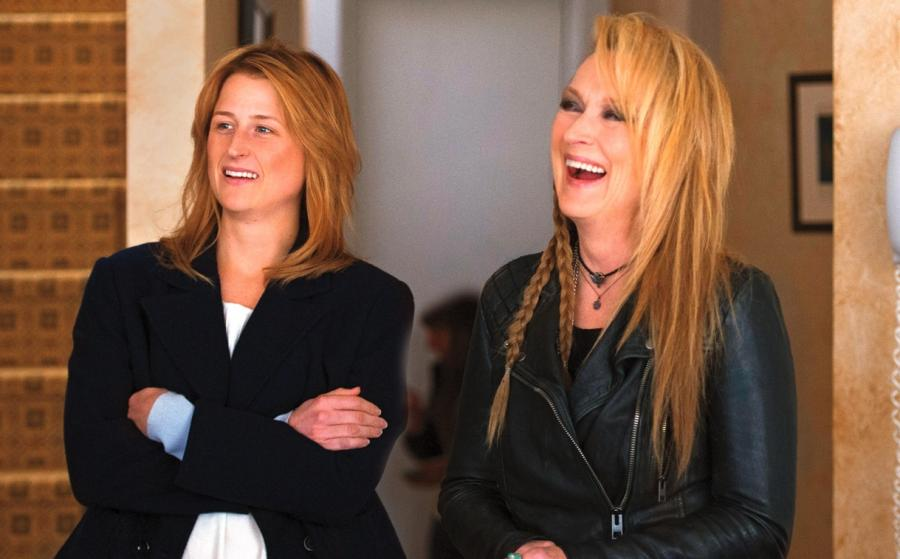 Meryl Streep i Mamie Gummer jej prawdziwa i filmowa córka w \