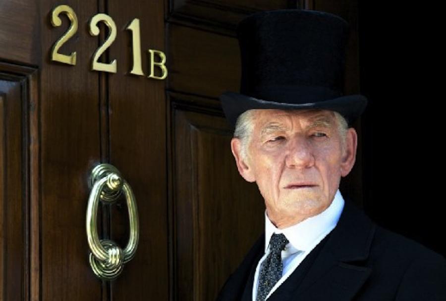 Ian McKellen jako Mr. Holmes