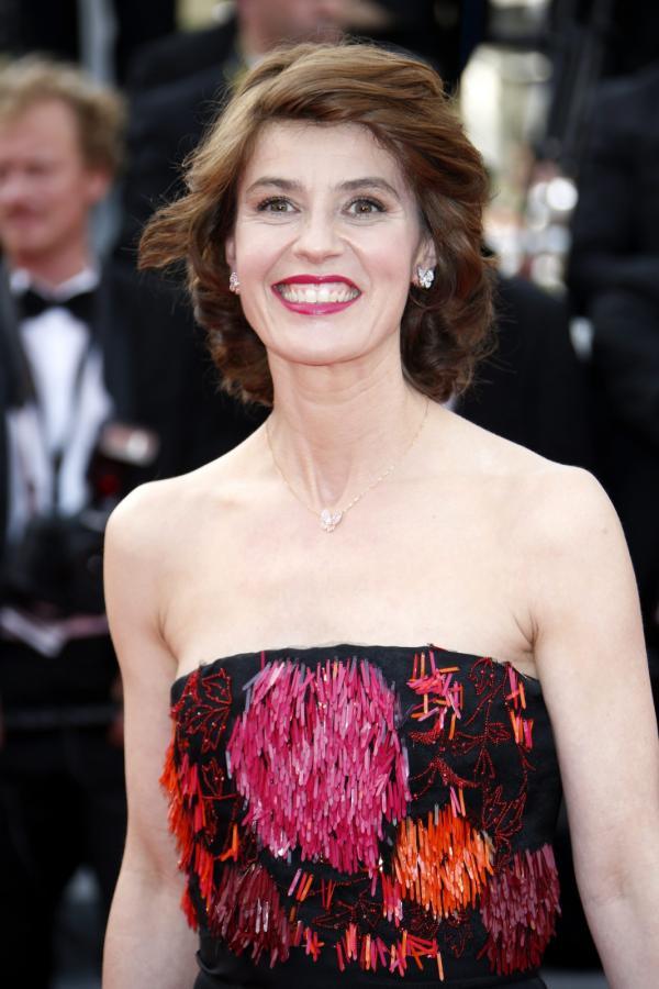 Irene Jacob na festiwalu w Cannes