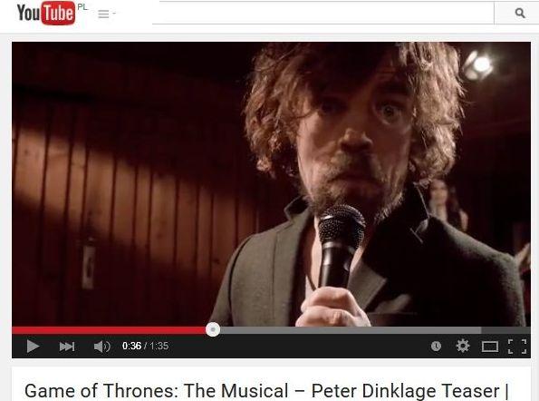 Peter Dinklage i Coldplay w musicalu \
