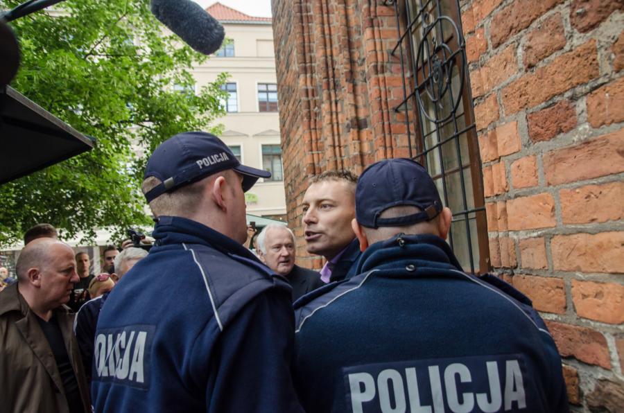 Incydent w Toruniu