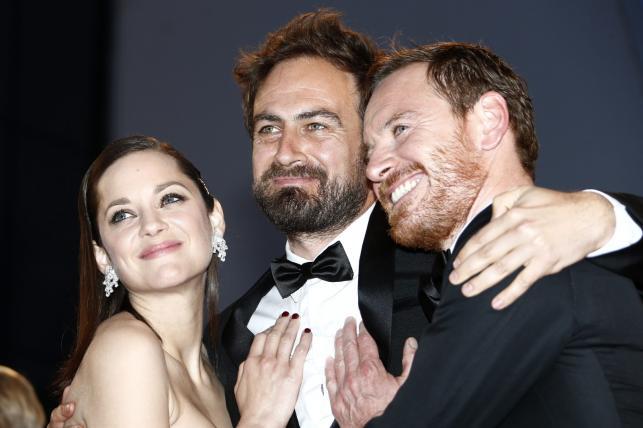 Marion Cotillard, Justin Kurzel i Michael Fassbender na festiwalu w Cannes