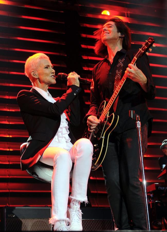 Marie Fredriksson podczas koncertu Roxette w Wiedniu