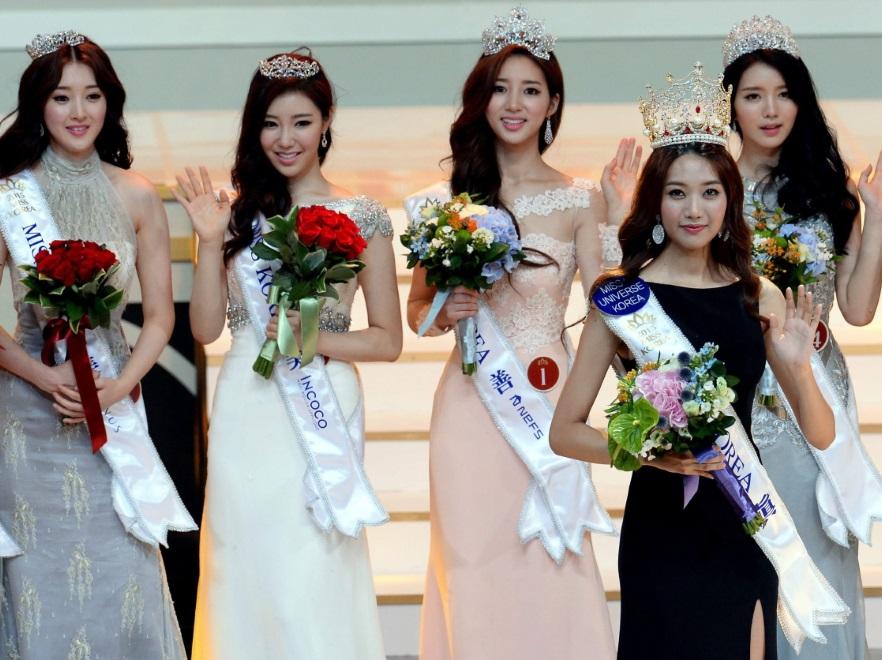 Zwyciężczynie konkursu Miss Korea 2015
