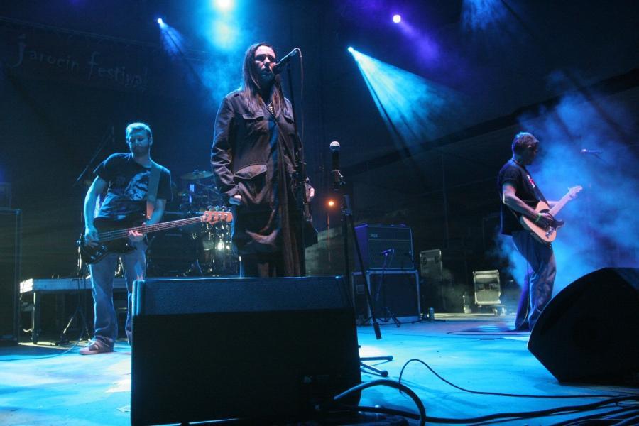 Jarocin na archiwalnych zdjęciach: 2007, koncert grupy Hey
