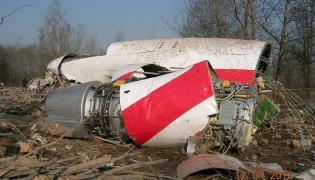 Niepublikowane zdjęcia z raportu MAK - szczątki samolotu Tu-154M