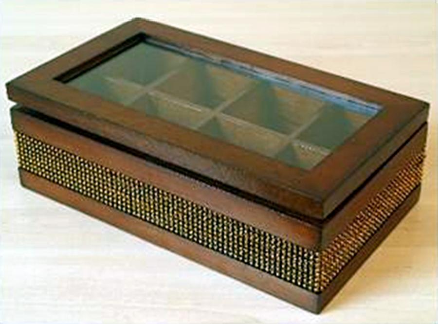 Pudełko na biżuterię lub herbatę