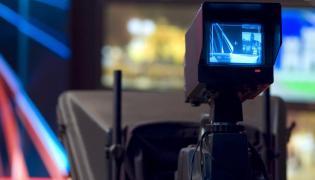 Kamera w studiu TV