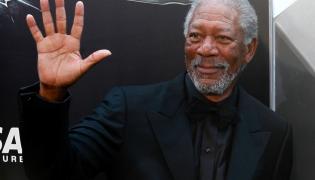 Morgan Freeman w prezydenckim samolocie