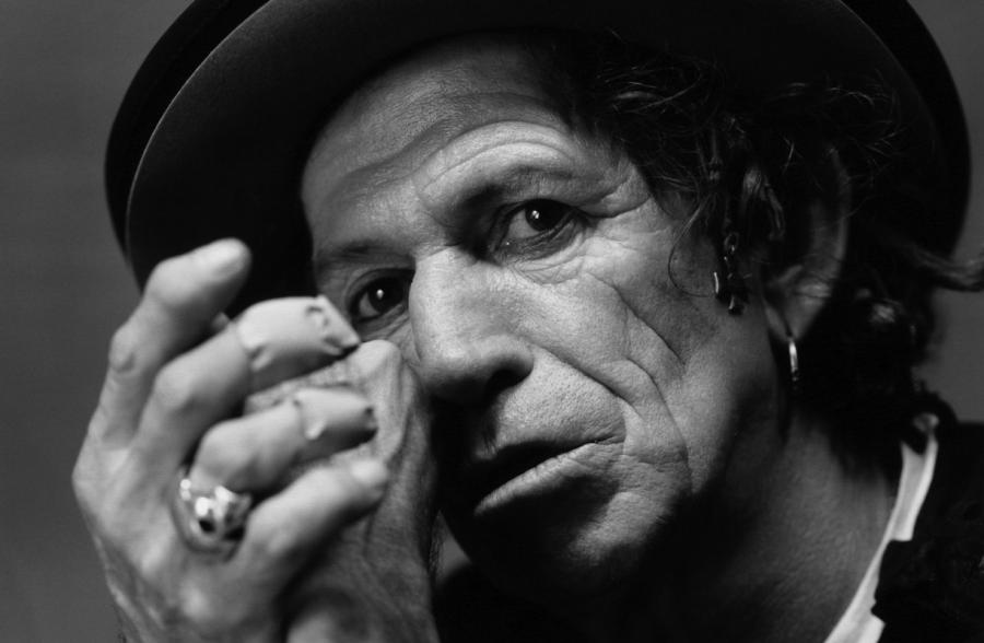 Keith Richards prezentuje \