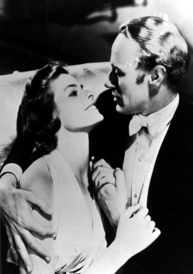 "Ingrid Bergman i Leslie Howard w filmie ""Intermezzo: A Love Story"""