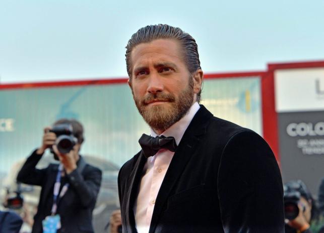 """Jake Gyllenhaal na premierze """"Everestu"""" w Wenecji"""