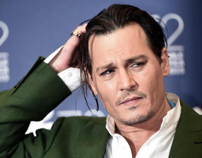 Johnny Depp promował w Wenecji swój nowy film