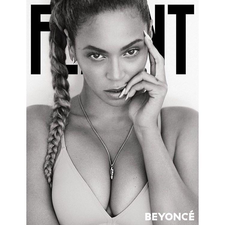 "Beyoncé na okładce magazynu ""Flaunt"""