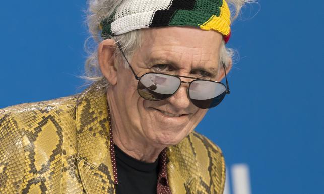 Keith Richards: Szczęśliwe jest życie staruszka
