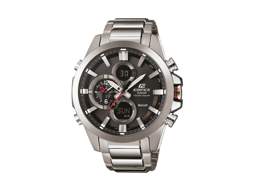 Gadżeciarz. Zegarek w stylu Edifice ECB-500D-1AER, cena ok 1490 zł