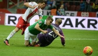 Piłka nożna Euro 2016 Eliminacje Polska Irlandia