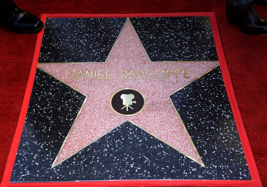 Daniel Radcliffe odsłonił swoją gwiazdę na hollywoodzkiej Alei Sław