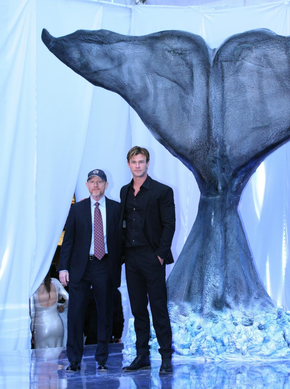 Chris Hemsworth i reżyser Ron Howard