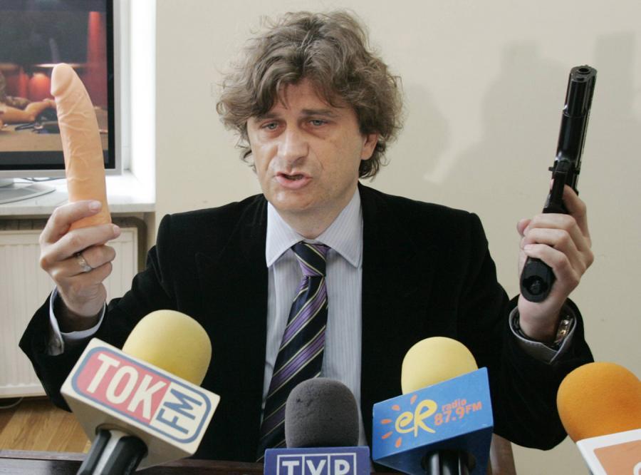 Janusz Palikot na drugim miejscu w swoim plebiscycie Gniot 2007