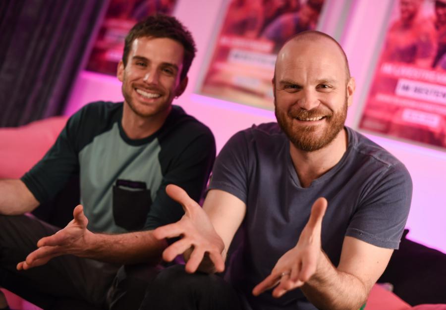 Coldplay w Niemczech: Guy Berryman i Will Champion