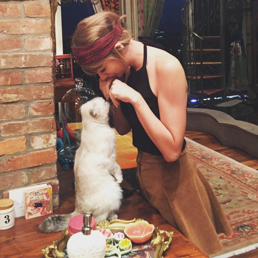 8. Taylor Swift – 2,3 miliona polubień