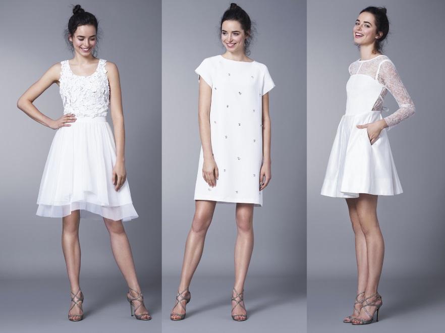 a78b8a5c73 Zdjęcia  Będą hitem nadchodzącego sezonu  krótkie suknie ślubne ...