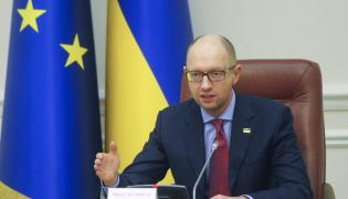 Premier Arsenij Jaceniuk