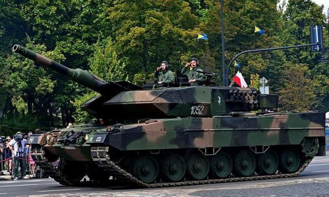Czołgi Leopard 2 w polskiej armii są lepsze od rosyjskich T-90