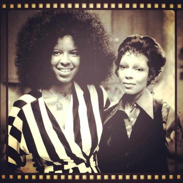 Natalie Cole z siostrą Carol w latach 70-tych