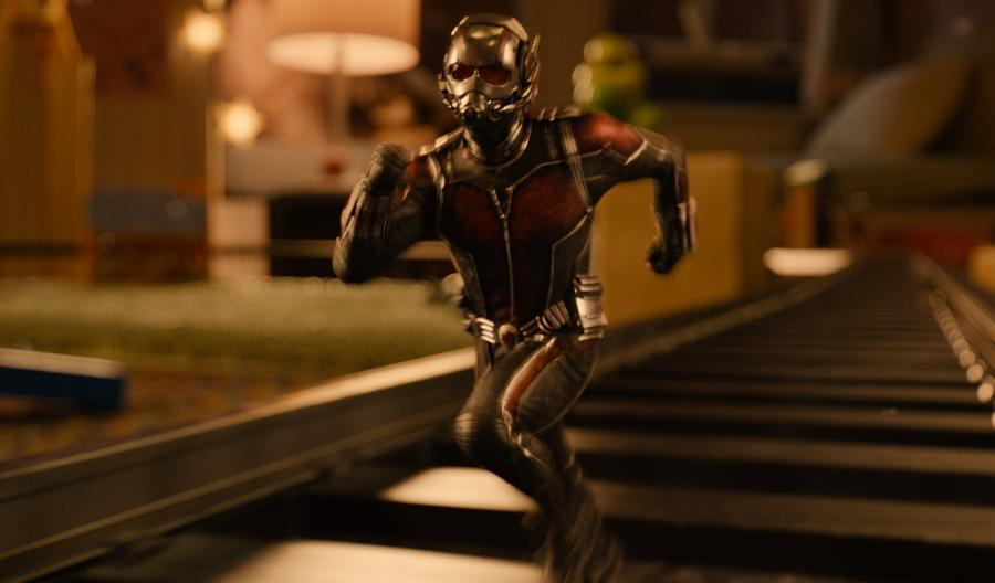 Paul Rudd szybki jak Ant-Man