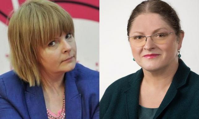 Korwin Piotrowska ostro do Pawłowicz: Marzyłabym, aby pani zamilkła, bo czyni pani zło. Wiele zła