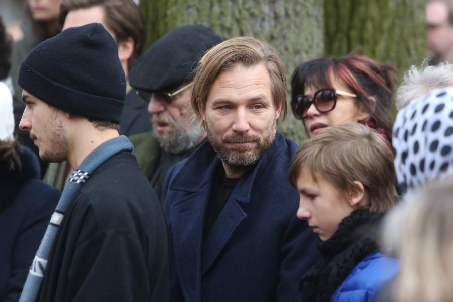 Sophie Marceau i synowie reżysera: Xawery Żuławski oraz Vincent