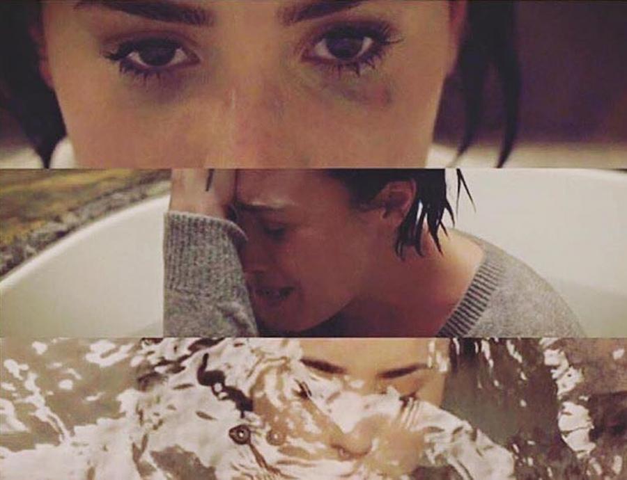 Pełna emocji Demi Lovato...