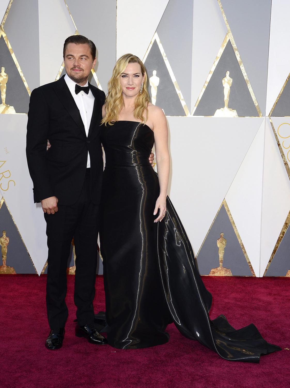 Leonardo DiCaprio i Kate Winslet na Oscarach