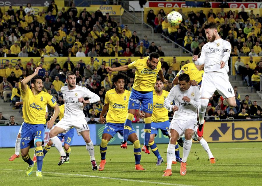 UD Las Palmas - Real Madryt