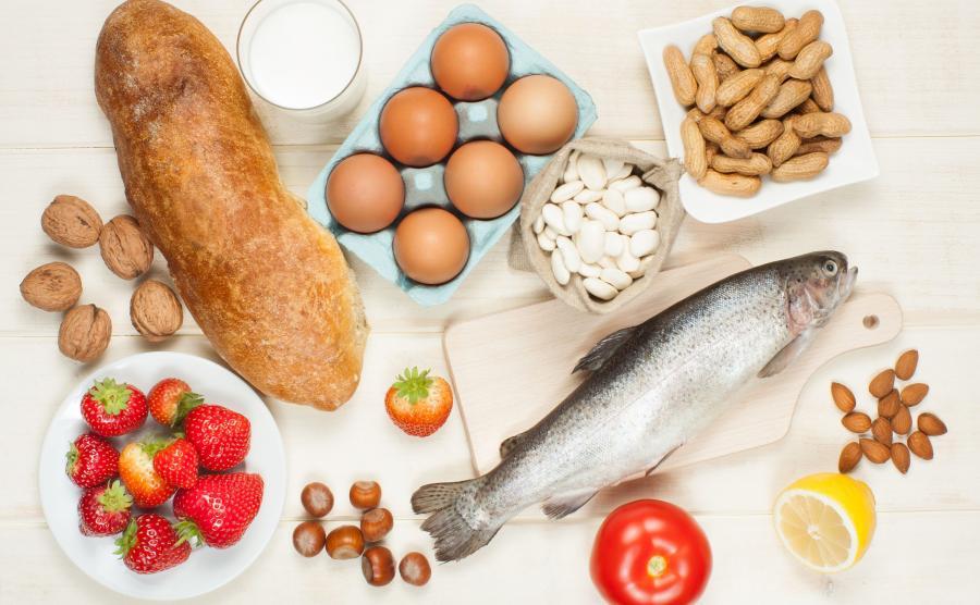 Produkty, które mogą wywołać alergię