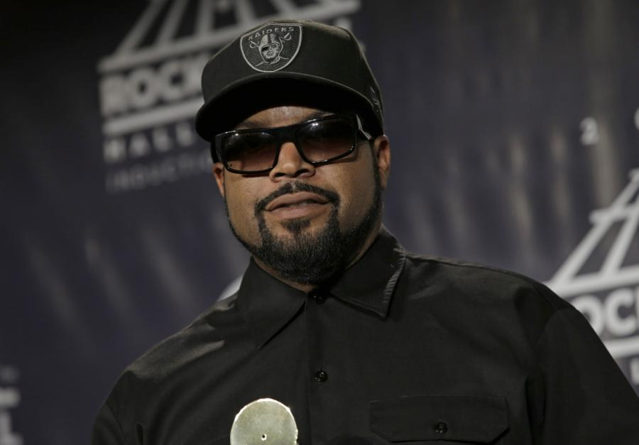 Ice Cube podczas ceremonii wprowadzenia do Rock and Roll Hall of Fame