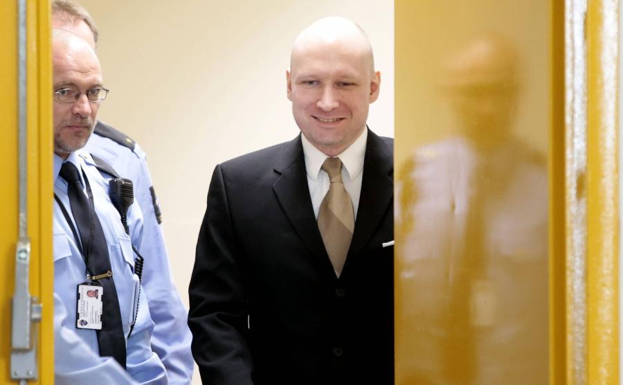 Breivik wygrał w sądzie z Norwegią