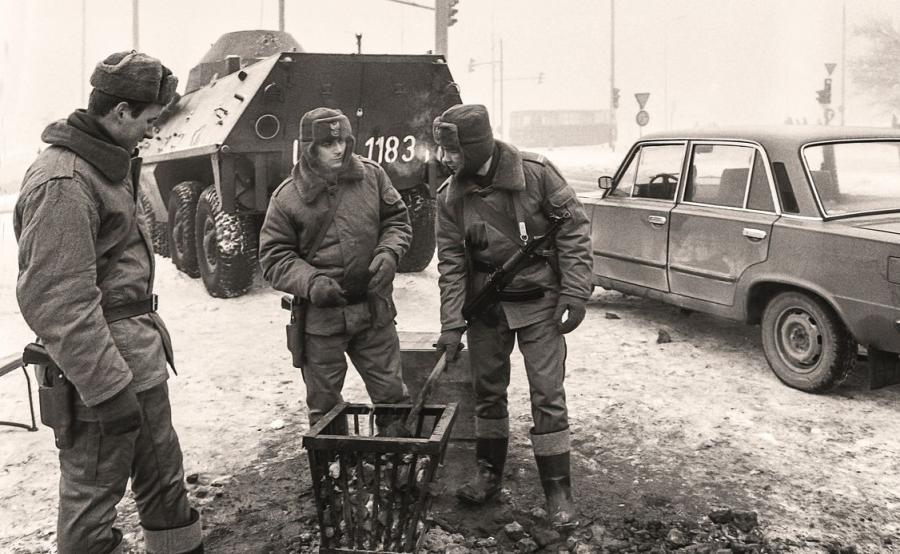 Warszawa lata 80