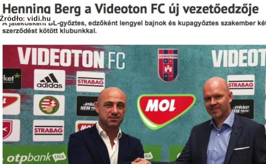 Henning Berg ma nową pracę