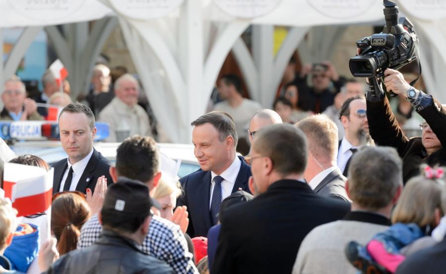 Prezydent Andrzej Duda w Lesznie