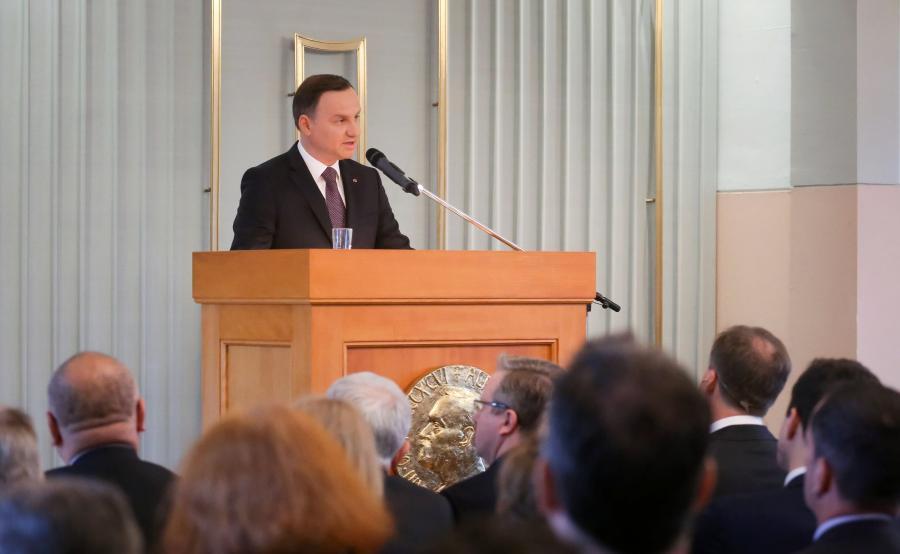Prezydent Andrzej Duda w Norwegii
