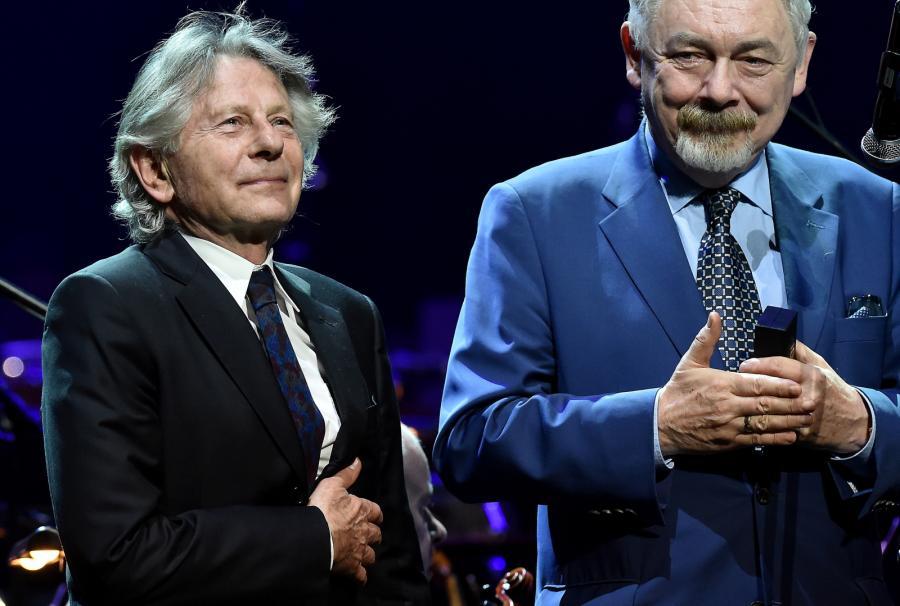 Roman Polański odebrał z rąk prezydenta Krakowa Jacka Majchrowskiego odznakę 50-lecia Stowarzyszenia Filmowców Polskich