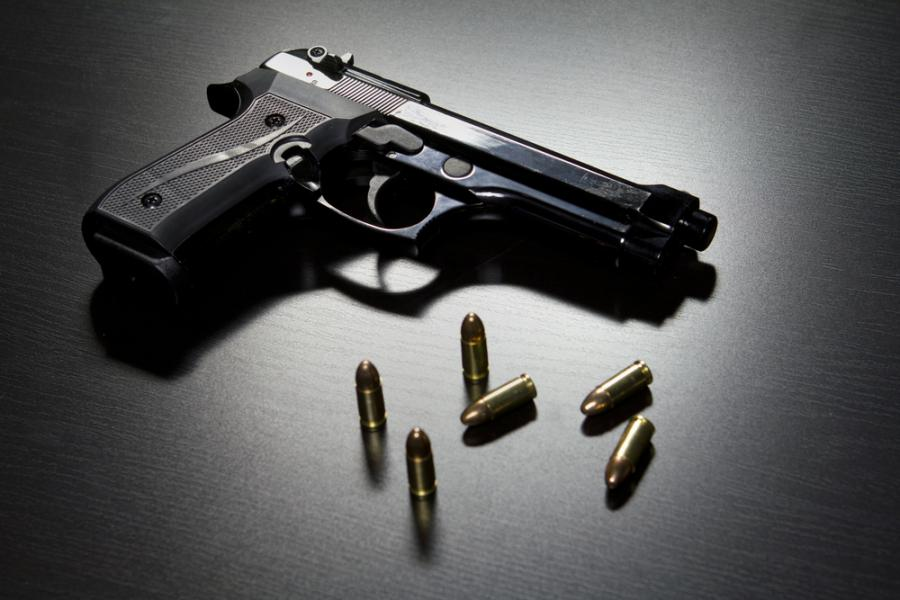 Pistolet i amunicja